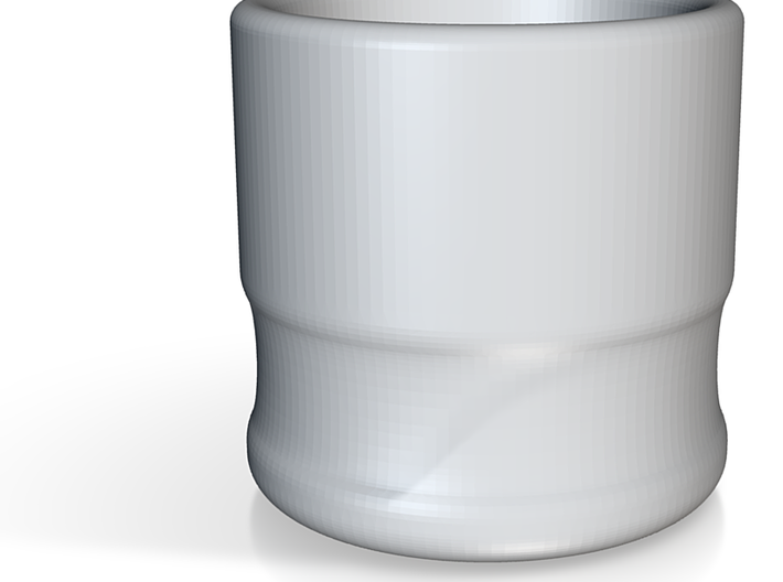 coffee cup ceramic 3d printed