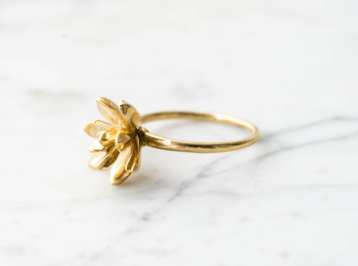 Succulent Stacking Ring No. 3 3d printed