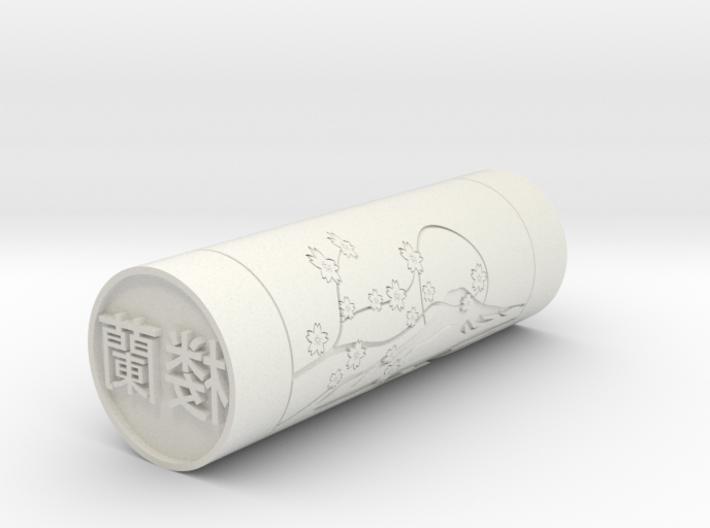 Lola Japanese stamp hanko name 20mm 3d printed