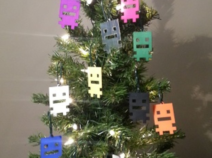 Turbo Buddy Ornament 3d printed THIS TREE IS AWESOME!!!