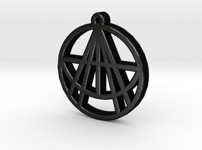 Astralizey Logo Pendant/Keychain 3d printed