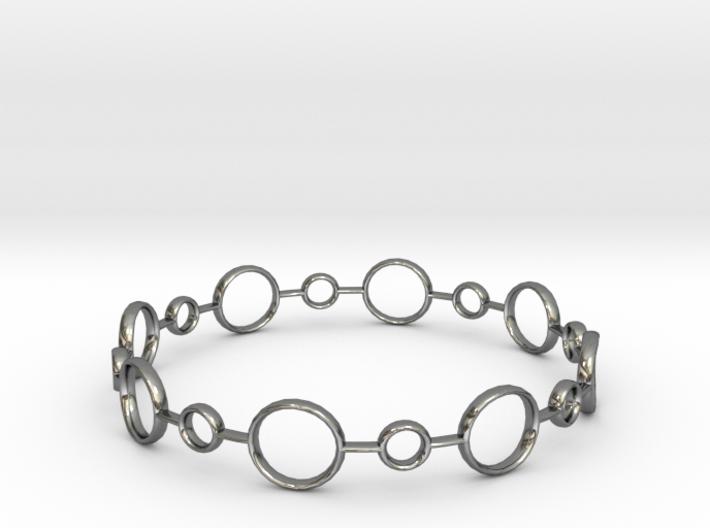 Circle Bracelet 3d printed