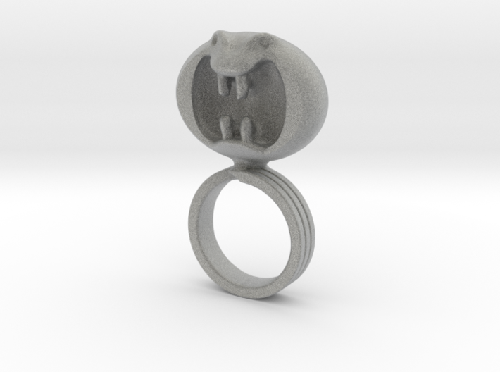Dark Helmet's ring from Spaceballs Schwartz 3d printed