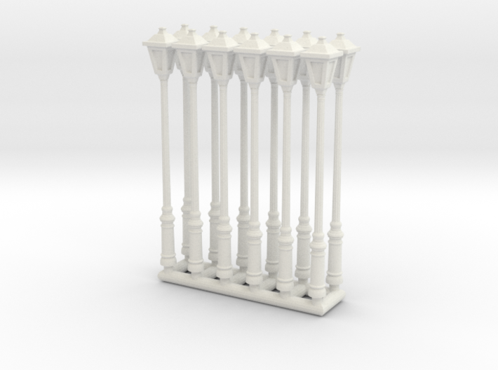 Street lamp 01. 1:64 Scale 3d printed