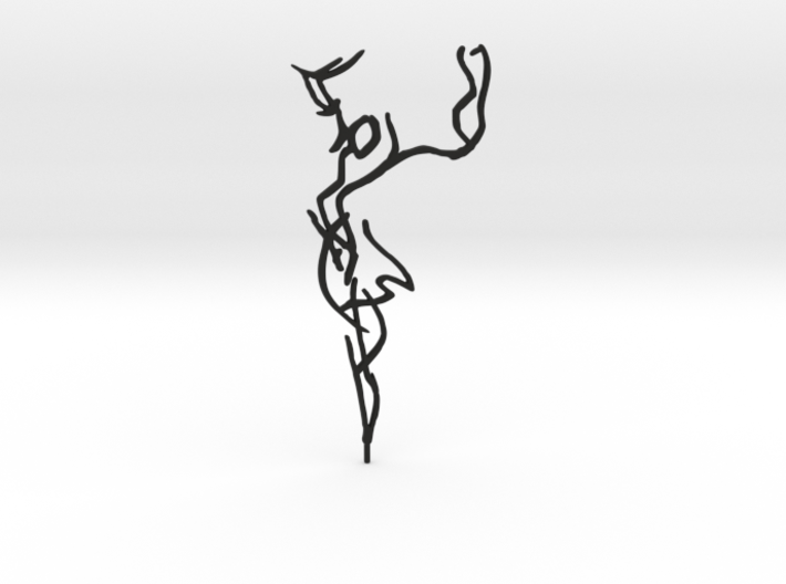 Ute Laux: Gret Palucca - Dance 10 3d printed