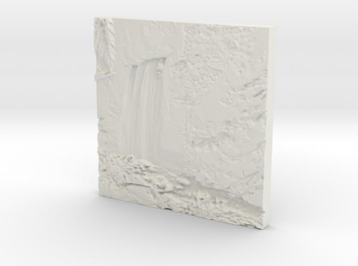 Hopetoun Waterfall 3d printed