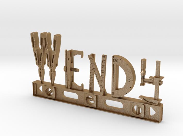Wendy Nametag 3d printed