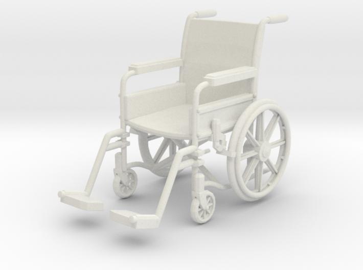 Wheelchair 01. 1:12 Scale 3d printed