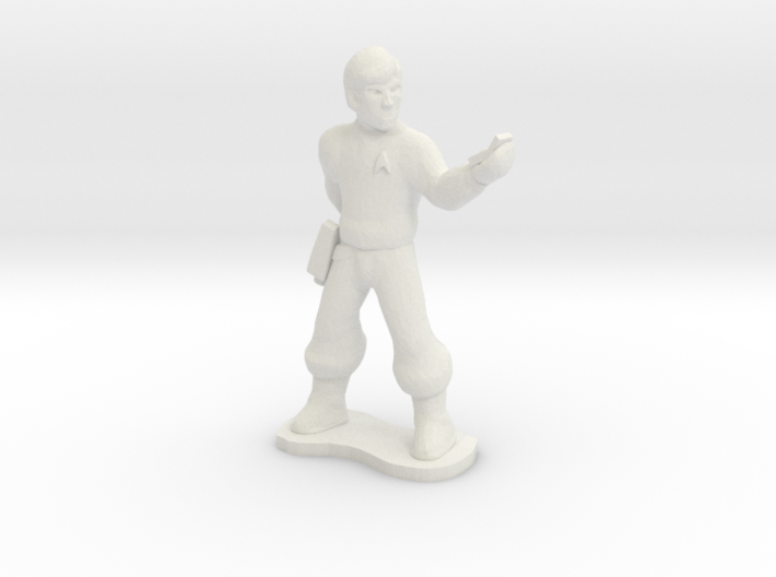 Starfleet Officer 3d printed