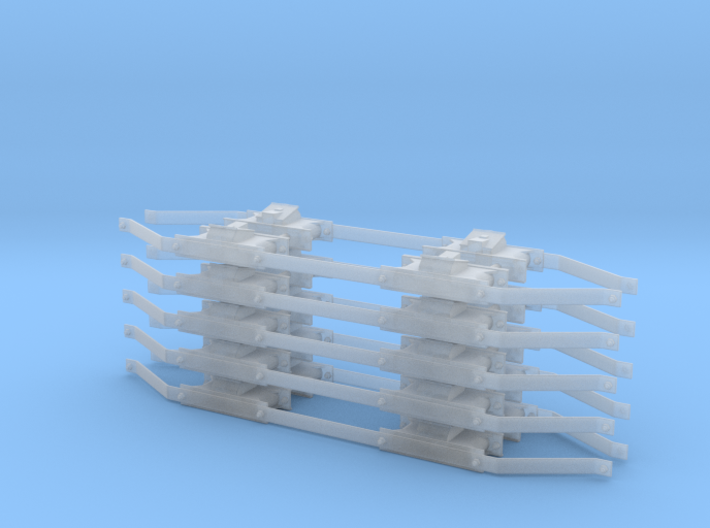 1:32 Hawaiian Cane Car Pedestal Assembly Set for 5 3d printed