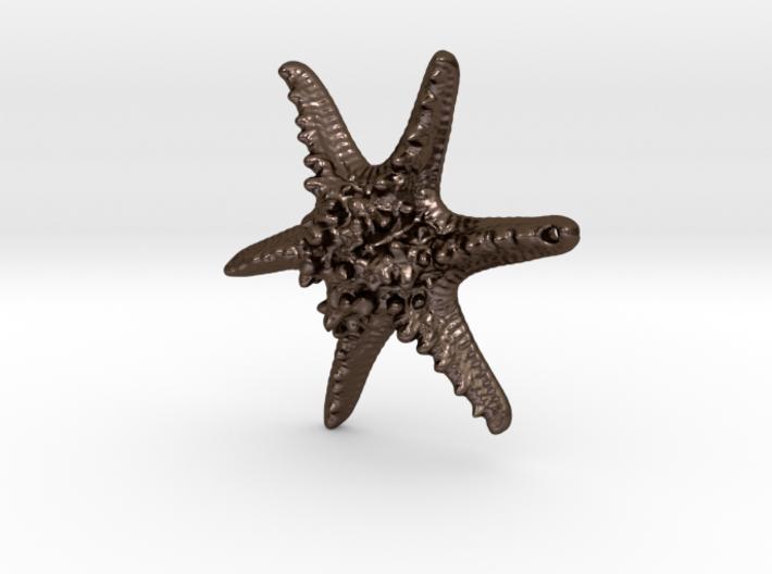 Horned Sea Star 3d printed