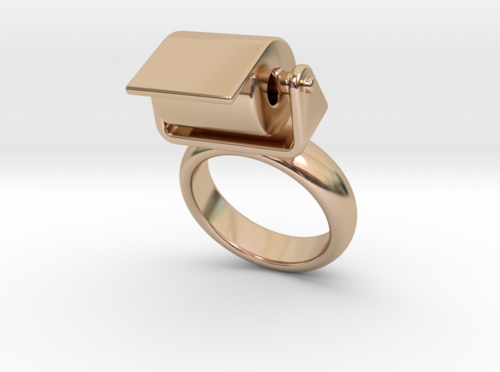 Toilet Paper Ring 18 - Italian Size 18 3d printed