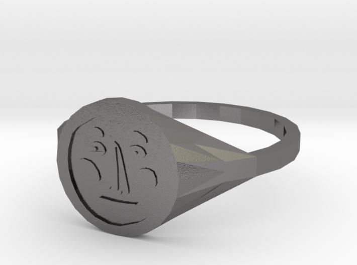 Signet Face v01 S 3d printed