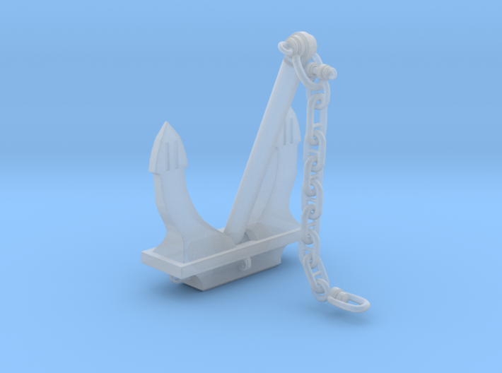 Anchor Danforth Z Scale 3d printed
