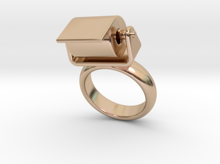 Toilet Paper Ring 21 - Italian Size 21 3d printed