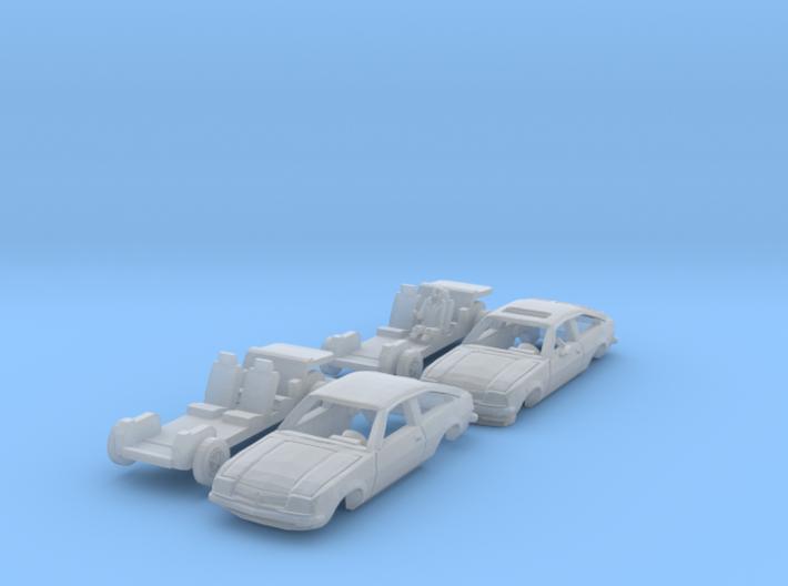 SET 2x Opel Manta CC (N 1:160) 3d printed