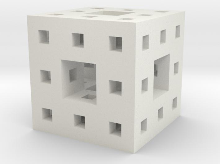 Little Level 2 Menger Sponge 3d printed