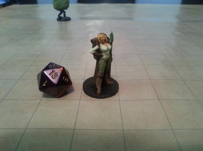 Female Elf Druid 3d printed