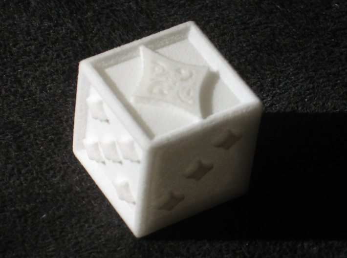 Ace Die Diamond 3d printed