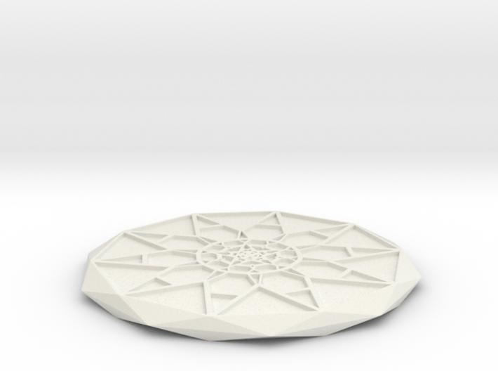 Star Power Coaster 3d printed