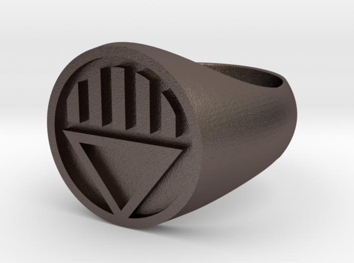 Black Lantern Ring (US Size 12.5) 3d printed