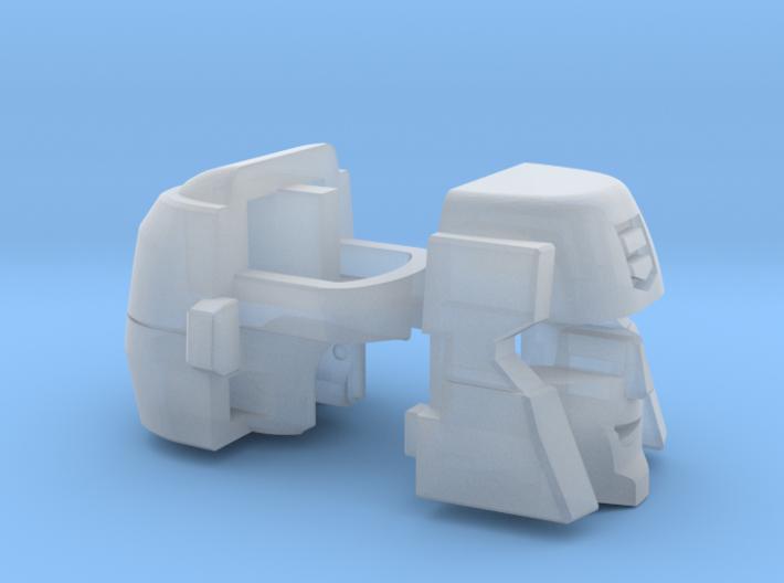 Streetjacker Head G1 Toon 3d printed