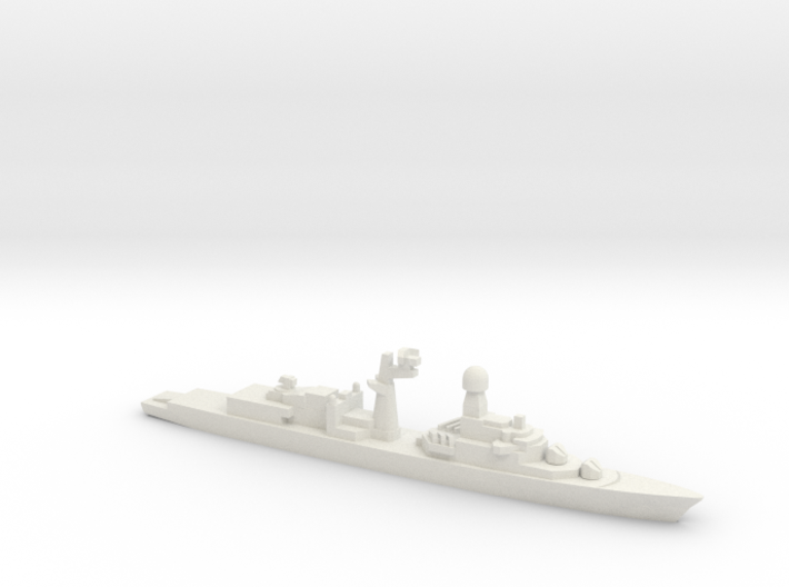 Tourville-class frigate (Early Proposal), 1/1800 3d printed