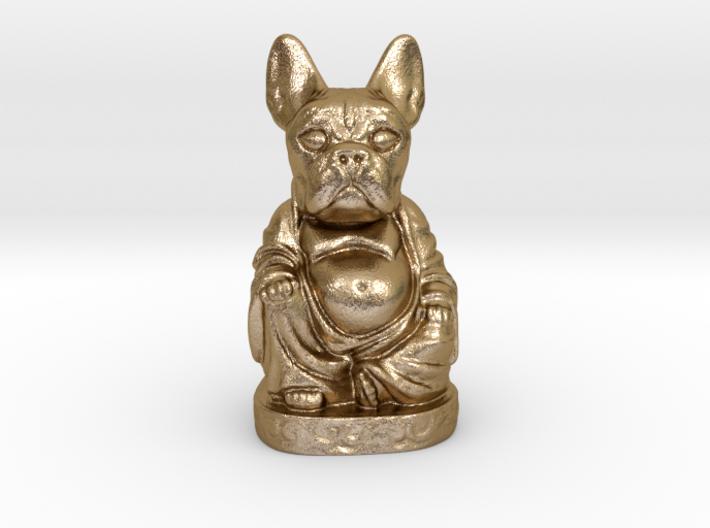 French Bull Dog Buddha Bottle Opener 3d printed