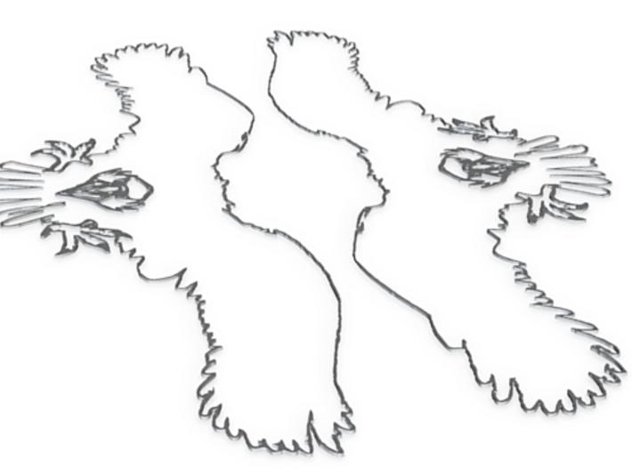 MtSalus Eagle Detail 3d printed