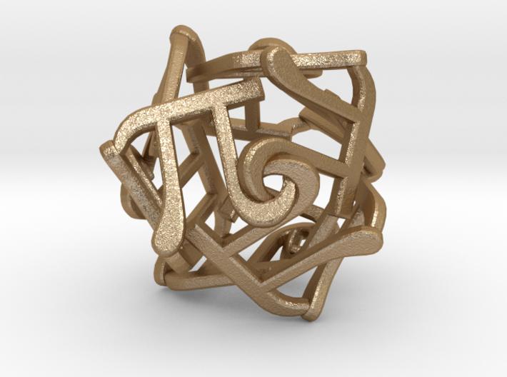 Twelve Pi Sculpture  3d printed