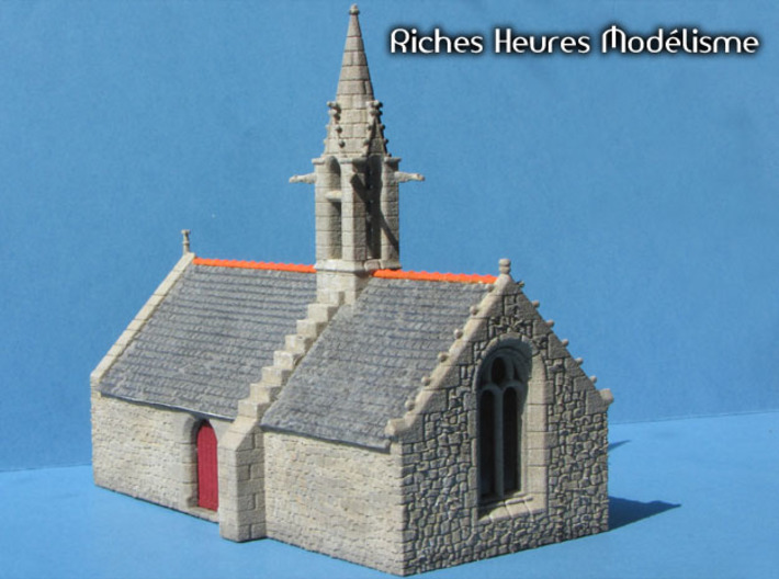 HOvMb01 - Brittany village 3d printed