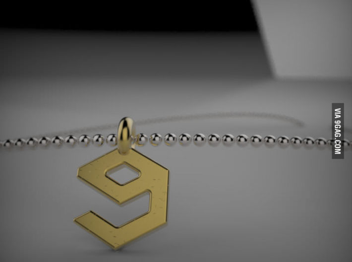 9 Gag Necklaces 3d printed