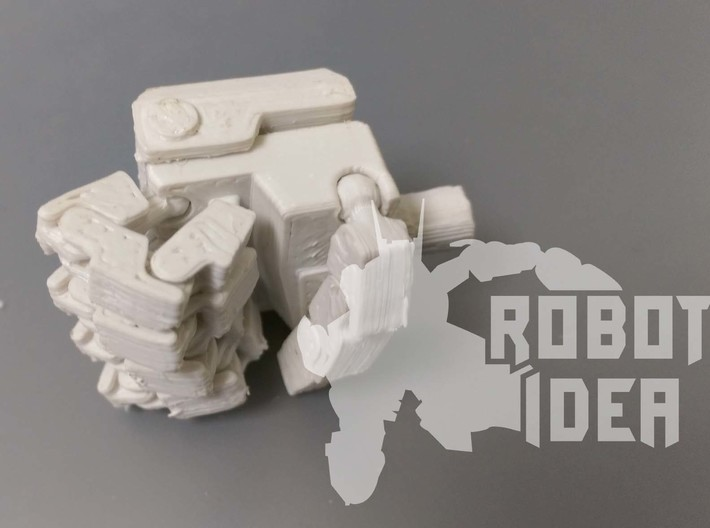 COMBINER FIST 3d printed