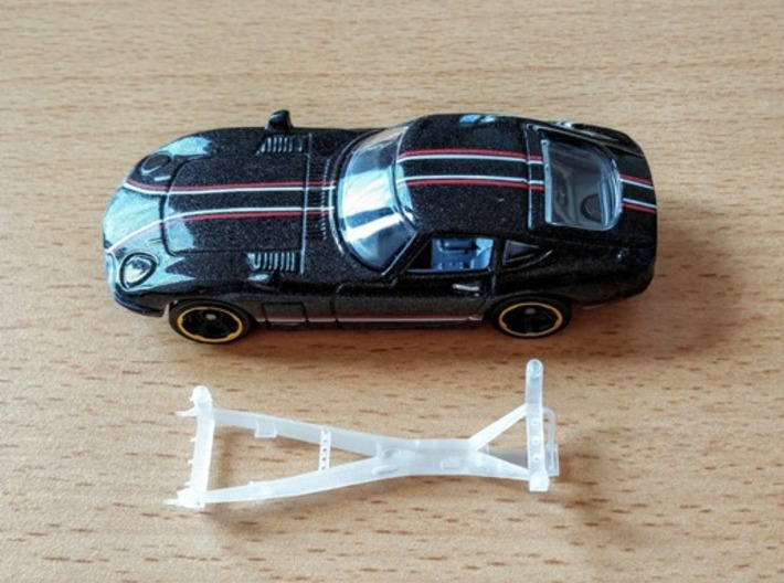 Chassis Toyota 2000gt Hotwheels  3d printed