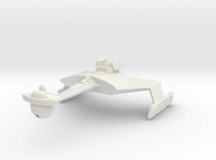 K't'inga Class D7 Battlecruiser 3d printed