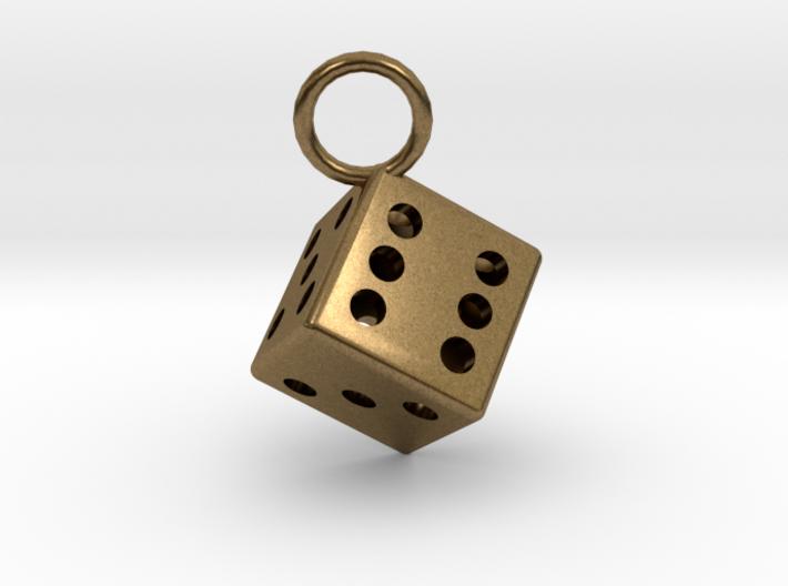 Charm: Dice 3d printed