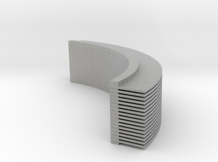Radialheatsink 3d printed