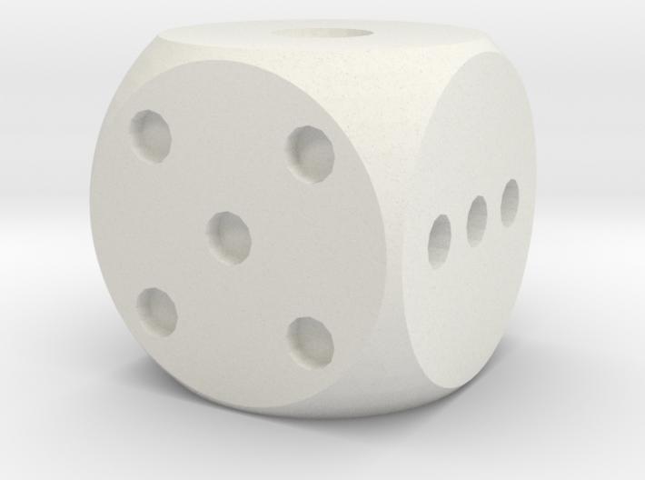 Balanced Dice v2 3d printed