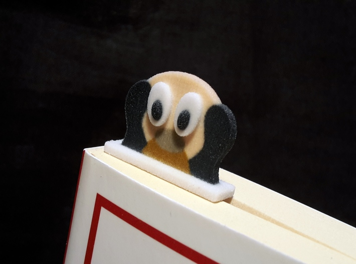 bookmark - S39 - thinking! 3d printed
