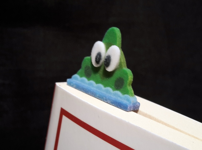 bookmark - S97 - thinking! 3d printed