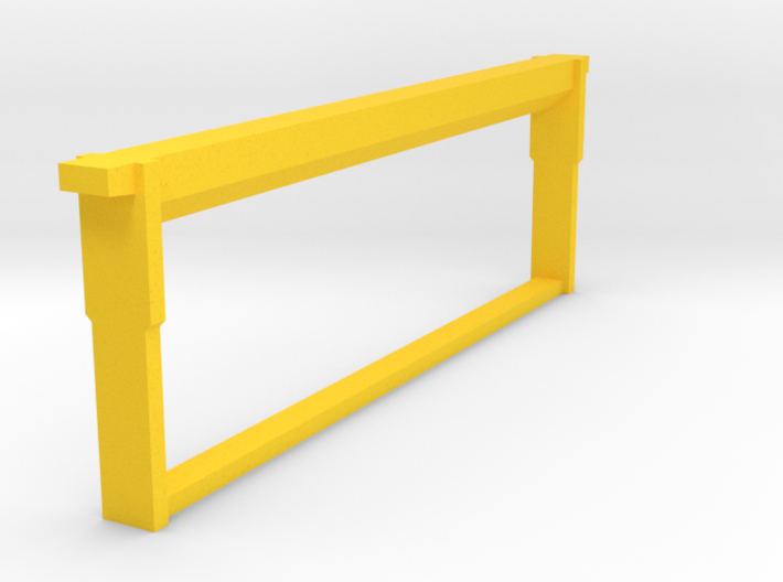 Medium Frame Foundationless 1/8 scale 3d printed