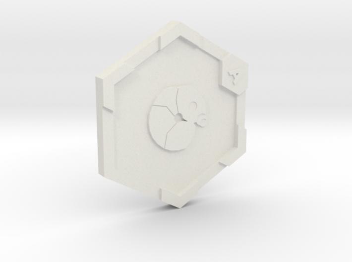 Medal A Beetle 3d printed