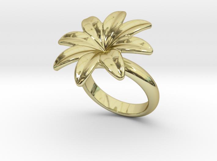 Flowerfantasy Ring 22 - Italian Size 22 3d printed