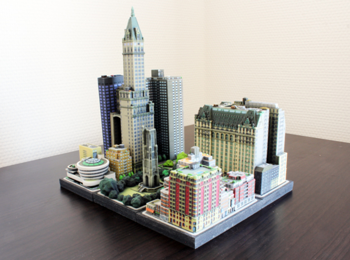 The Sherry Netherland Hotel (3x3) 3d printed