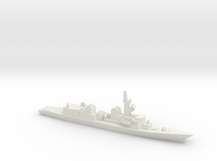 Murasame-class destroyer, 1/1800 3d printed