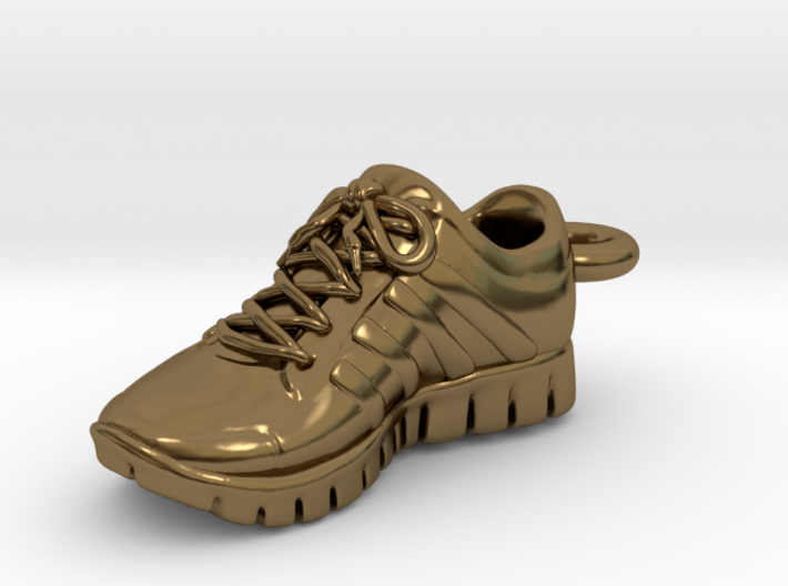 Running Shoe Charm  3d printed