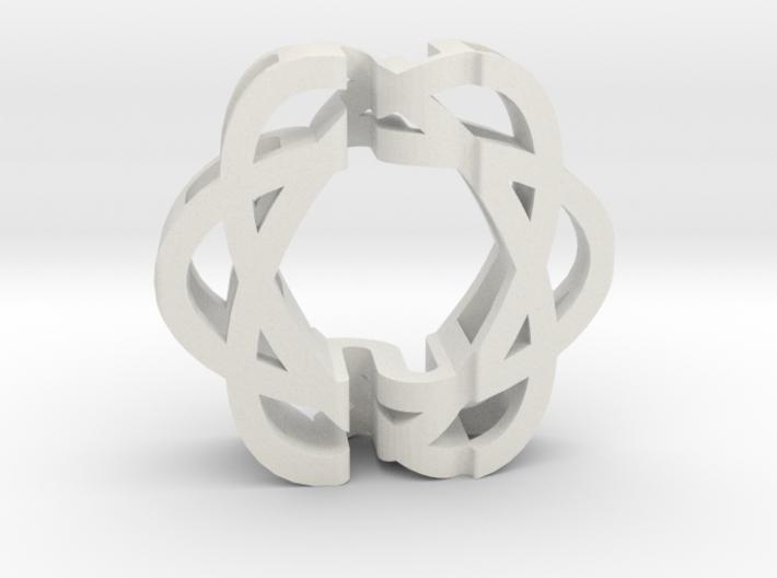 ASD Dual Art Sculpture 3d printed