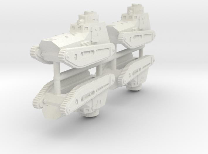 1/200 LK-II (x4) 3d printed