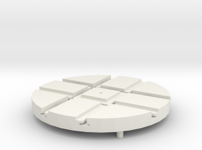 T-14-wagon-turntable-48d-100-1a 3d printed