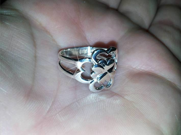 Size 9 Wife Ring  3d printed